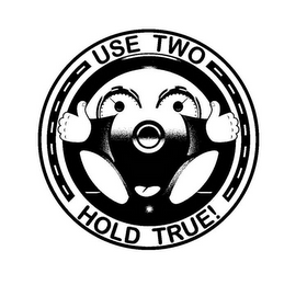 mark for USE TWO HOLD TRUE!, trademark #85819818