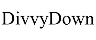 mark for DIVVYDOWN, trademark #85819868