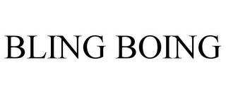 mark for BLING BOING, trademark #85820178
