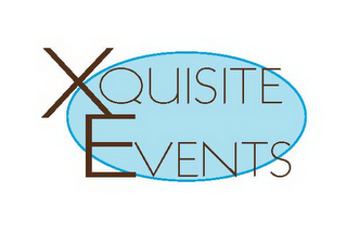 mark for XQUISITE EVENTS, trademark #85820250