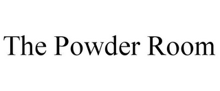 mark for THE POWDER ROOM, trademark #85820601