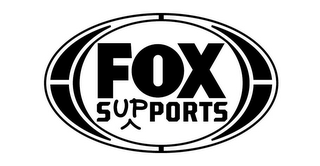 mark for FOX SUPPORTS, trademark #85820666