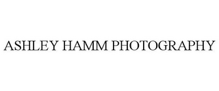 mark for ASHLEY HAMM PHOTOGRAPHY, trademark #85820996