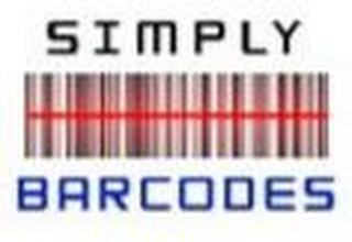 mark for SIMPLY BARCODES, trademark #85821221