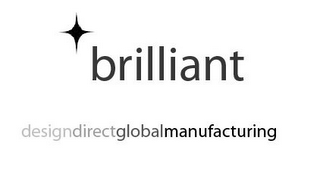 mark for BRILLIANT DESIGNDIRECTGLOBALMANUFACTURING, trademark #85821287