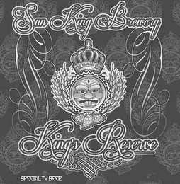 mark for SUN KING BREWERY KING'S RESERVE SPECIALTY BEER, trademark #85821368
