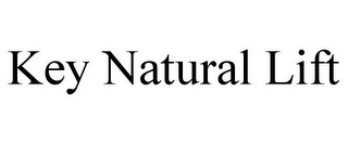 mark for KEY NATURAL LIFT, trademark #85821696