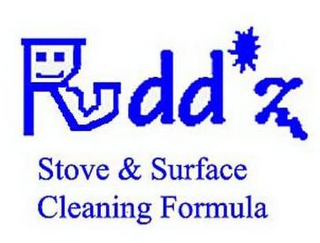 mark for RUDD'Z STOVE & SURFACE CLEANING FORMULA, trademark #85821994