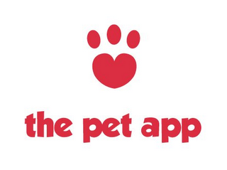 mark for THE PET APP, trademark #85822101