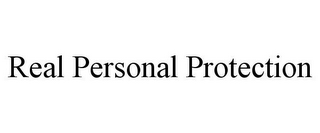 mark for REAL PERSONAL PROTECTION, trademark #85822647