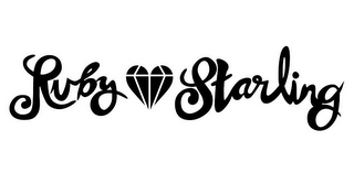 mark for RUBY STARLING, trademark #85823537
