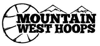 mark for MOUNTAIN WEST HOOPS, trademark #85823841