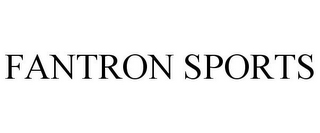 mark for FANTRON SPORTS, trademark #85823915