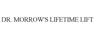 mark for DR. MORROW'S LIFETIME LIFT, trademark #85823952