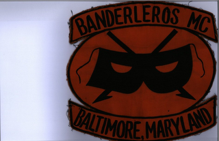 mark for BANDERLEROS MC BALTIMORE, MARYLAND, trademark #85824904