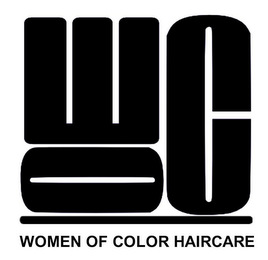 mark for WOC WOMEN OF COLOR HAIRCARE, trademark #85825404
