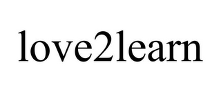 mark for LOVE2LEARN, trademark #85825593