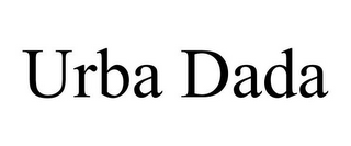 mark for URBA DADA, trademark #85825661