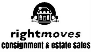 mark for RIGHT MOVES CONSIGNMENT & ESTATE SALES, trademark #85825852