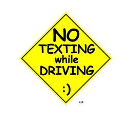mark for NO TEXTING WHILE DRIVING :), trademark #85826103
