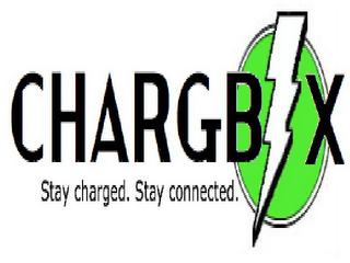 mark for CHARGBX STAY CHARGED. STAY CONNECTED., trademark #85826334