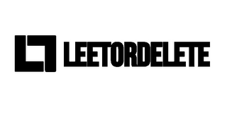 mark for LD LEETORDELETE, trademark #85826422