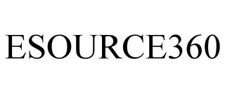 mark for ESOURCE360, trademark #85826596