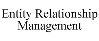 mark for ENTITY RELATIONSHIP MANAGEMENT, trademark #85826879