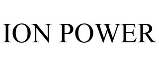 mark for ION POWER, trademark #85826906