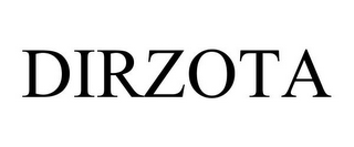 mark for DIRZOTA, trademark #85826964