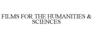 mark for FILMS FOR THE HUMANITIES & SCIENCES, trademark #85826973
