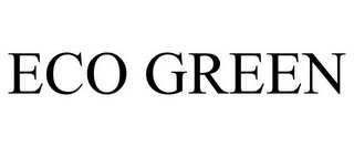 mark for ECO GREEN, trademark #85827357
