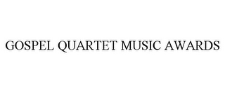 mark for GOSPEL QUARTET MUSIC AWARDS, trademark #85827553