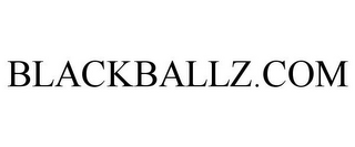 mark for BLACKBALLZ.COM, trademark #85827585