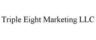 mark for TRIPLE EIGHT MARKETING LLC, trademark #85828078