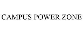 mark for CAMPUS POWER ZONE, trademark #85828087