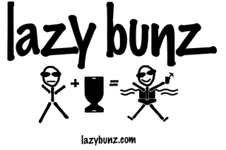 mark for LAZY BUNZ LAZYBUNZ.COM, trademark #85828322