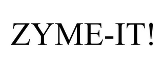mark for ZYME-IT!, trademark #85828992