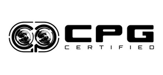 mark for CPG CPG CERTIFIED, trademark #85829604