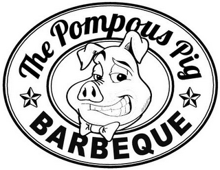 mark for THE POMPOUS PIG BARBEQUE, trademark #85829805