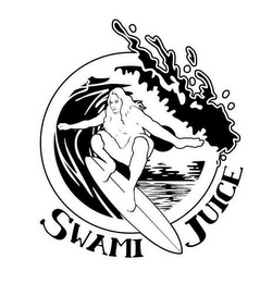 mark for SWAMI JUICE, trademark #85830104