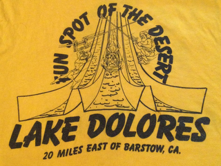 mark for FUN SPOT OF THE DESERT LAKE DOLORES 20 MILE EAST OF BARSTOW, CA, trademark #85830600