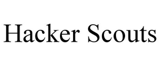 mark for HACKER SCOUTS, trademark #85830842