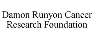 mark for DAMON RUNYON CANCER RESEARCH FOUNDATION, trademark #85830988