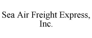 mark for SEA AIR FREIGHT EXPRESS, INC., trademark #85831224