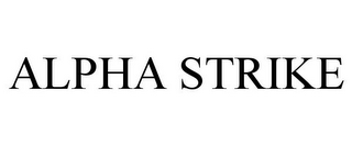 mark for ALPHA STRIKE, trademark #85831357