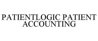 mark for PATIENTLOGIC PATIENT ACCOUNTING, trademark #85831512