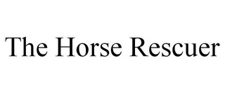 mark for THE HORSE RESCUER, trademark #85831697
