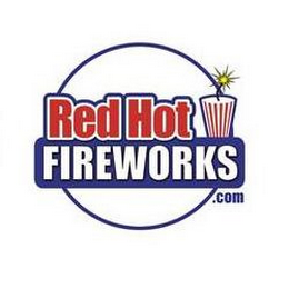 mark for RED HOT FIREWORKS, trademark #85832205