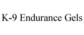 mark for K-9 ENDURANCE GELS, trademark #85832326